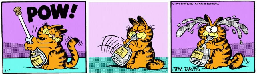 Оригинал комикса про Гарфилда от 01 января 1979 года